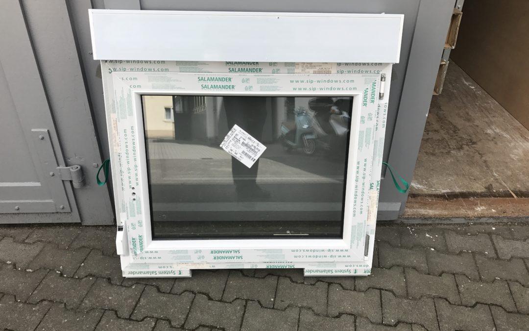 1-flügliges DK Fenster Din Rechts mit Miniaufsatzrolladen RA2